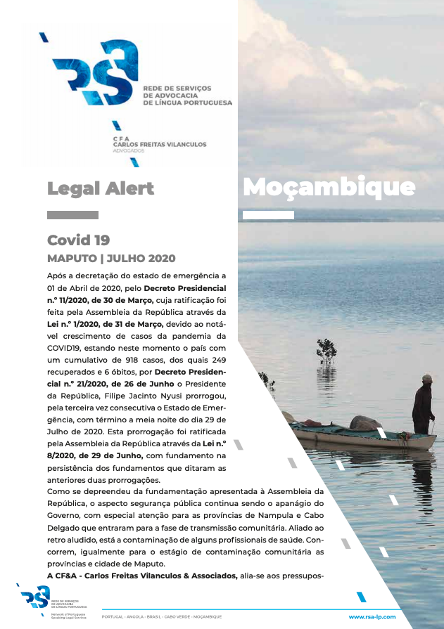 Legal Alert Moçambique