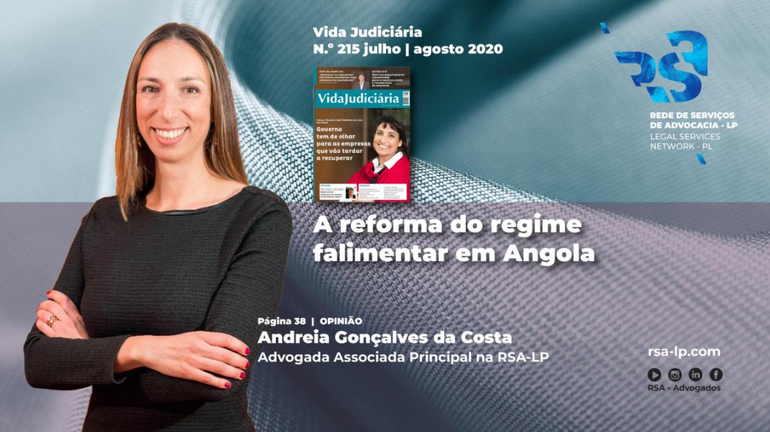 A reforma do regime falimentar em Angola por Andreia Gonçalves