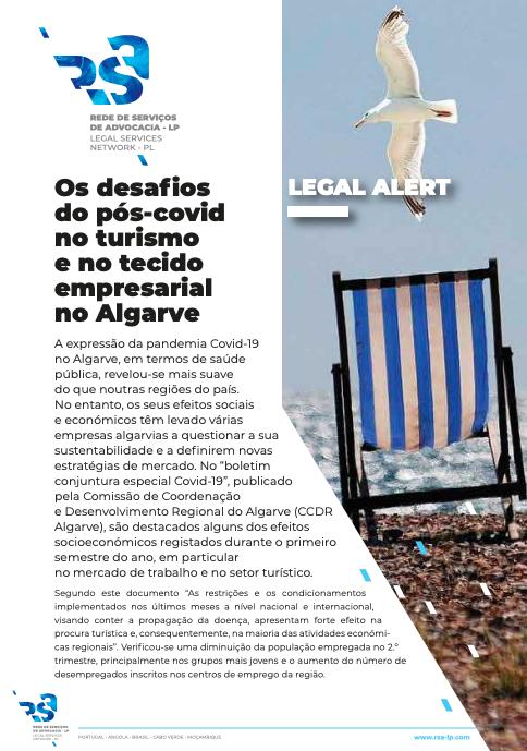 Os desafios do pós covid no turismo e no tecido empresarial no Algarve