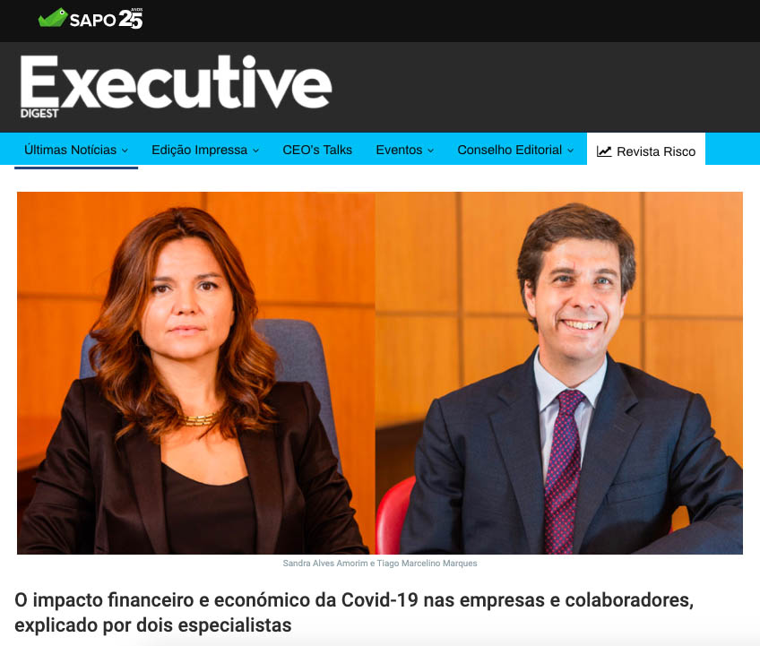 Entrevista Executive Digest sobre impacto da Covid-19