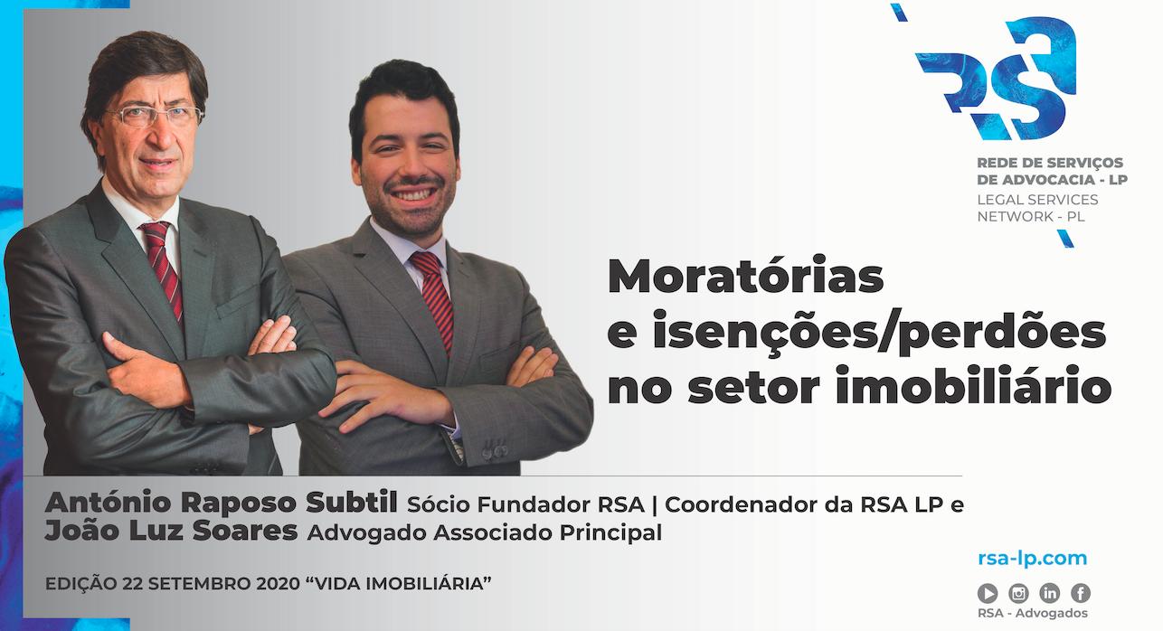 Artigo de António Raposo Subtil e João Luz Soares para a Revista Vida Imobiliária