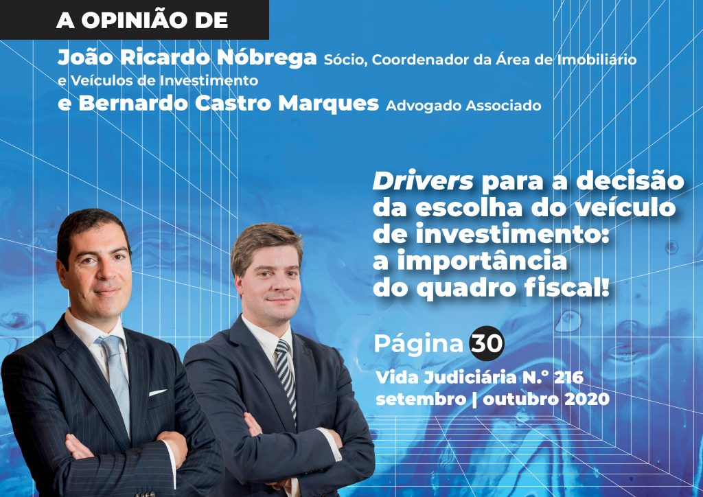 Drivers para a decisão da escolha do veículo de investimento: a importância do quadro fiscal