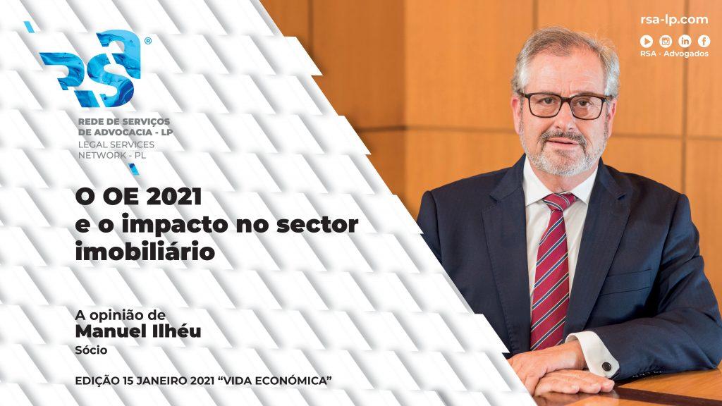O OE 2021 e o impacto no sector imobiliário