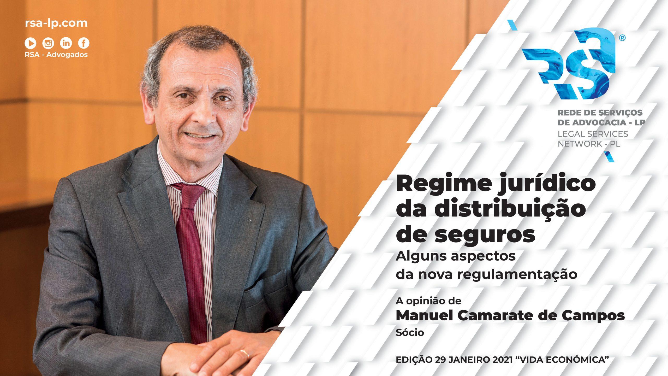 Regime Jurídico da Distribuição de Seguros - Alguns aspectos da nova regulamentação