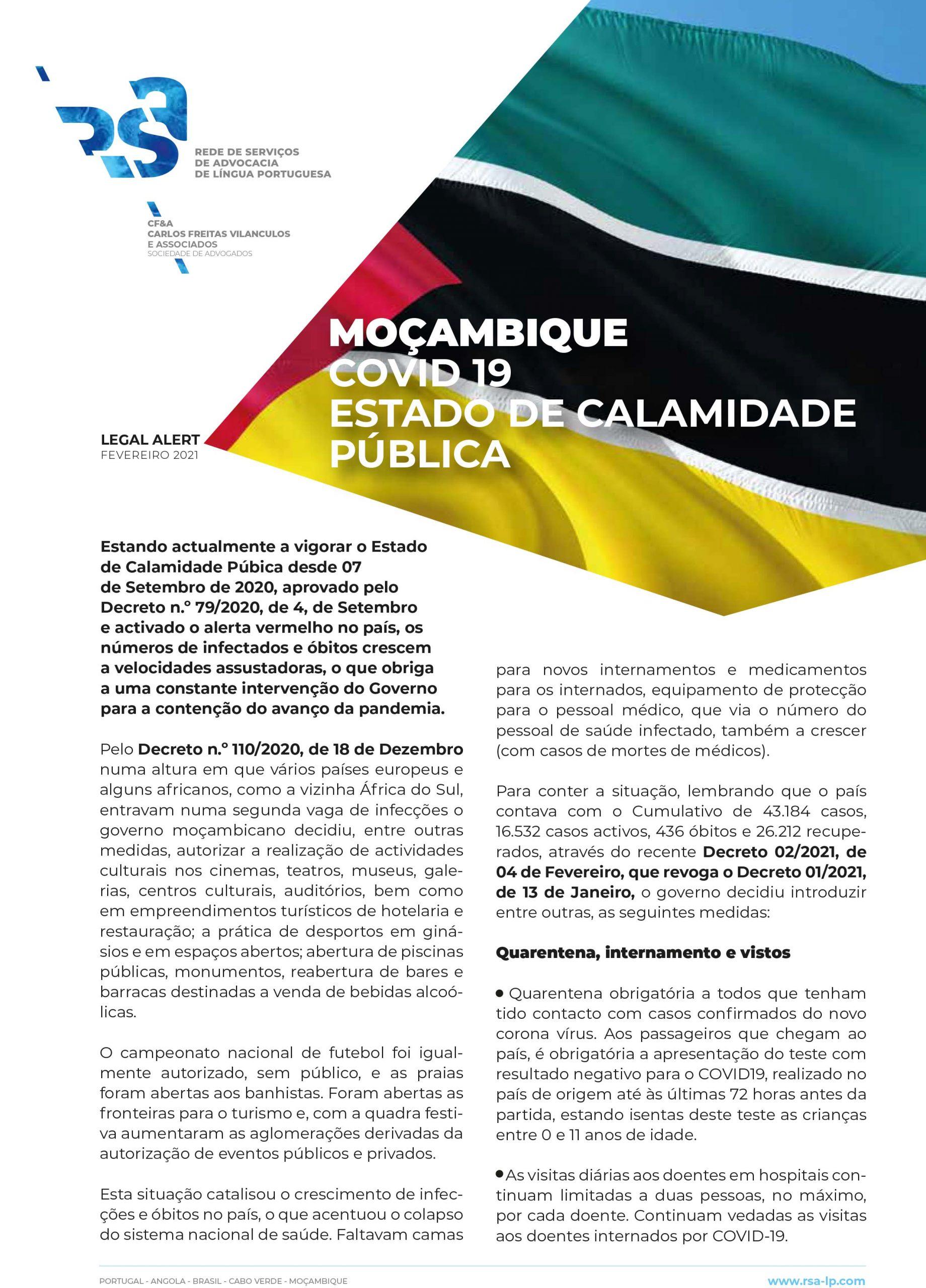 Legal Alert Moçambique