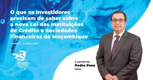 Lei das Instituições de Crédito e Sociedades Financeiras de Moçambique