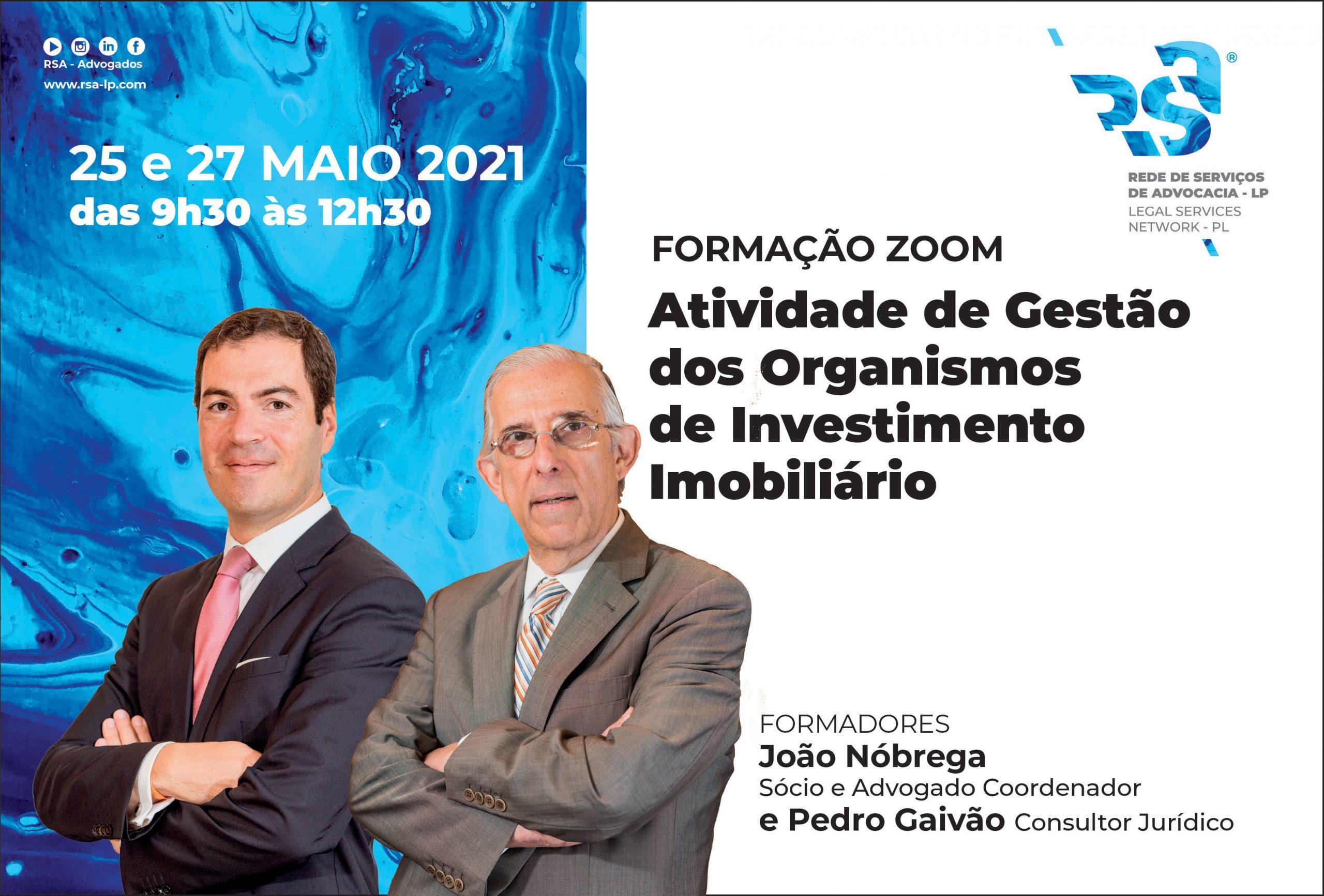 Actividade de Gestão dos Organismos de Investimento Imobiliário